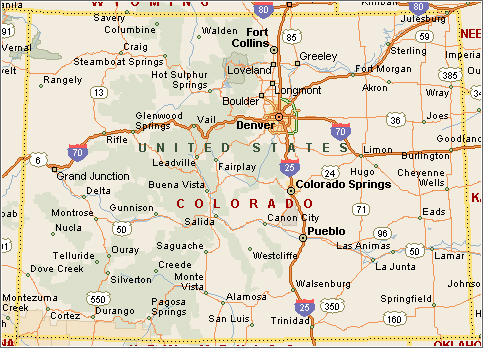 Map Of Pueblo Colorado And Surrounding Areas Www Naturalrugs Store